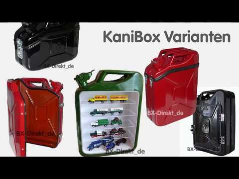 Geschenkidee für Oldtimer Fan Schrauber Benzinkanister zum DIY Ausbau KaniBox I