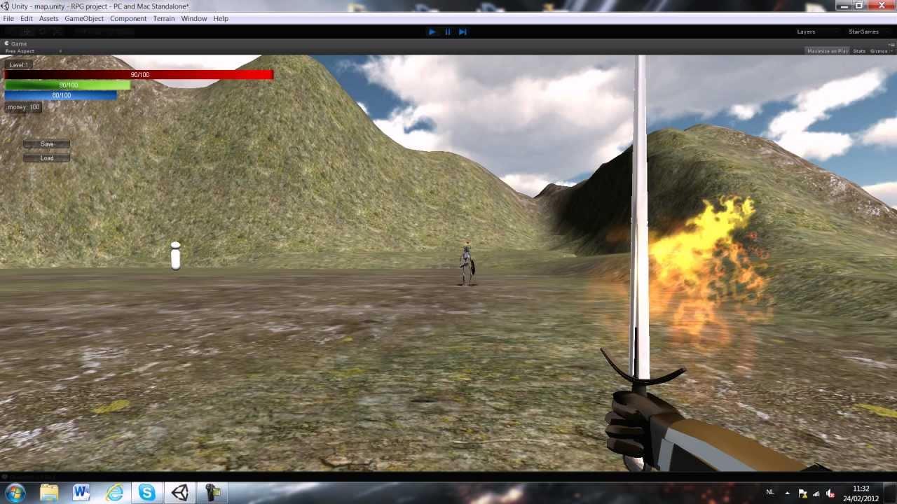 Unity 3D RPG starter kit (FREE)