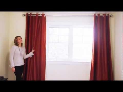 Inside Design with Ulya Jensen: Grommet Curtains
