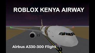 Roblox Kenya Airway Airbus A330-300 Flight