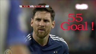 55 - Super Гол!!! Лионеля Месси за сборную Аргентину в Кубке Америки 2016 FULL HD 