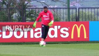 Russia: Chile get back to training after 2-0 victory over Cameroon