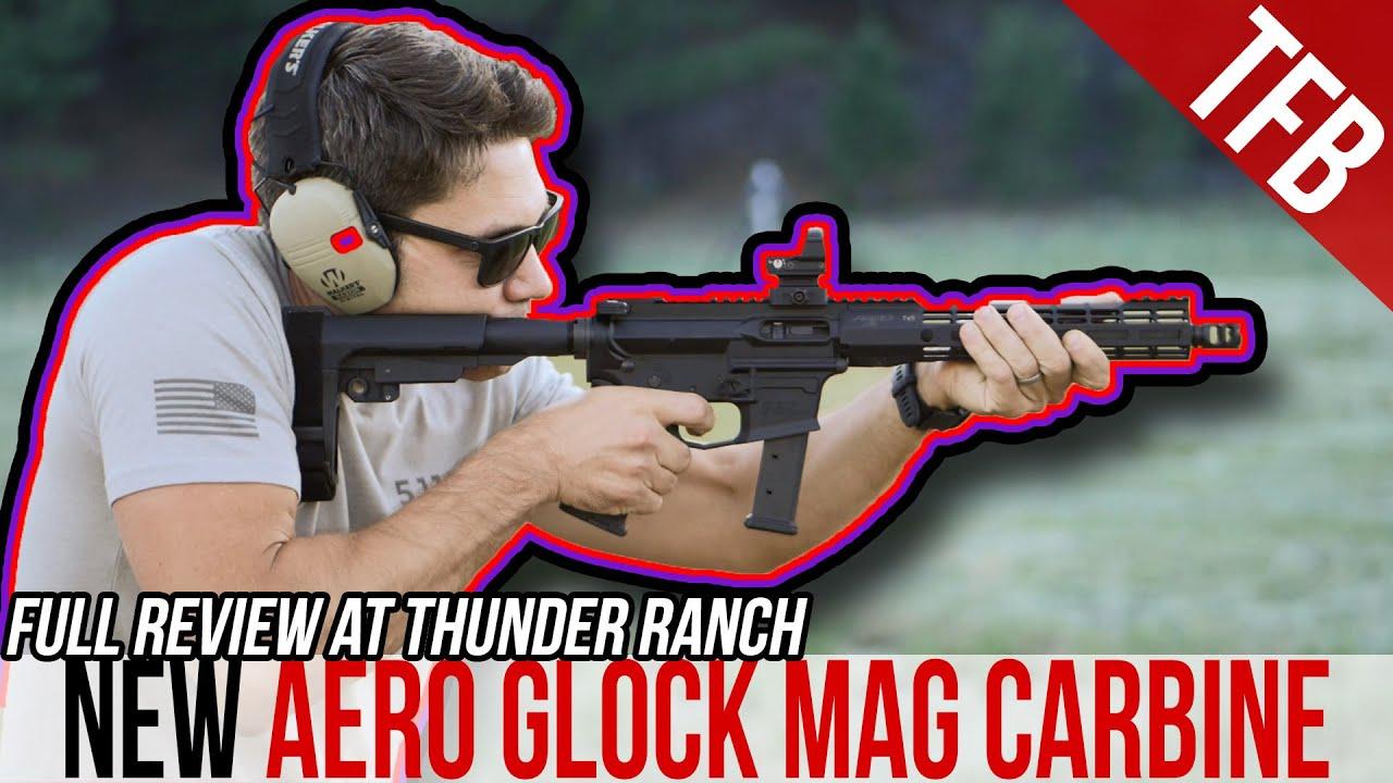 NEW Aero EPC: A Glock Mag Pistol Caliber Carbine Review