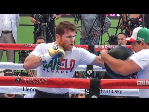 Canelo Alvarez WORKOUT! Trains ANGRY! For KNOCKOUT Vs GGG 2