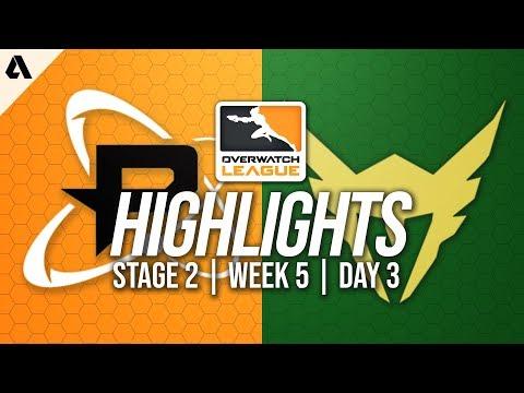 Philadelphia Fusion vs Los Angeles Valiant | Overwatch League Highlights OWL Stage 2 Week 5 Day 3