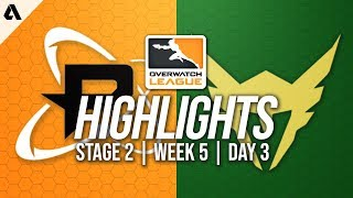 Philadelphia Fusion vs Los Angeles Valiant | Overwatch League Highlights OWL Stage 2 Week 5 Day 3