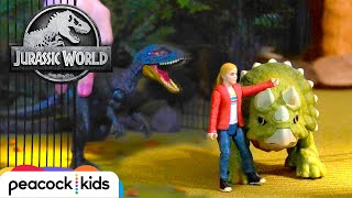 Dinosaur Escape! | JURASSIC WORLD
