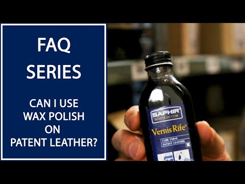 Can I Use Wax Polish On Patent Leather Shoes? | FAQ | Kirby Allison
