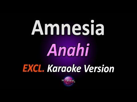 AMNESIA (Karaoke Version) - Anahi (com letra)