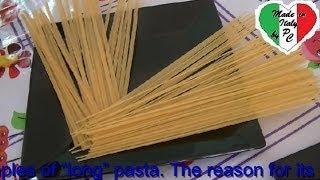 Уроки итальянской кухни № 1   Типы макаронных изделий
