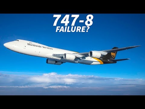 Is the Boeing 747-8 a Failure?