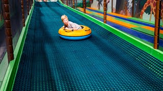 Fun Times at Busfabriken Indoor Play Center (family fun for kids) Long Edit 2