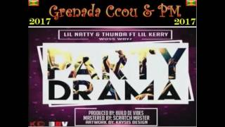 Video Lil Natty & Thunda ft Lil Kerry - Party Drama (Grenada Soca 2017) download MP3, 3GP, MP4, WEBM, AVI, FLV Agustus 2018
