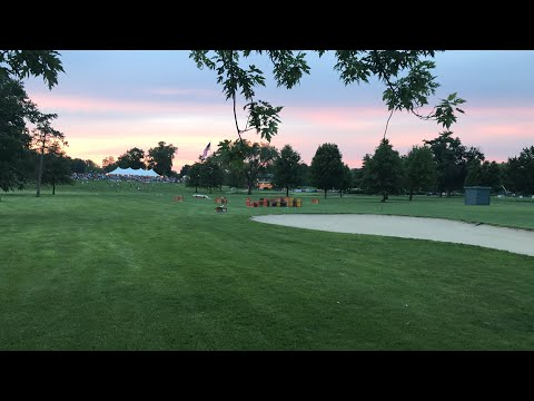 West Lafayette golf course and country club fireworks 2017