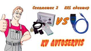 KKL адаптер VS Сканматик 2. Работа над ошибками