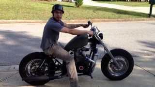 Intercooled Turbo Diesel Motorcycle (part 2)