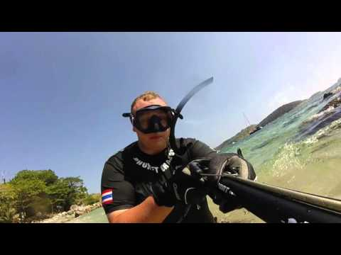 DIY Webbed Spearfishing Gloves