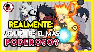 Los 10 personajes MÁS PODEROSOS de Naruto y Naruto Shippuden