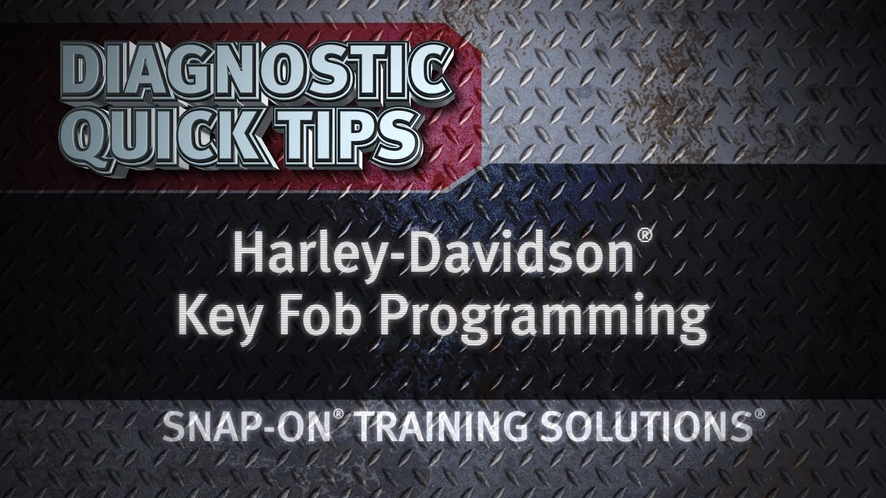 Diagnostic Quick Tips - Harley-Davidson® Key Fob Programming