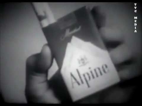 Alpine Cigarette Commercial - 1950's