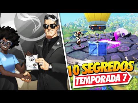 FUNDADOR DA O.I.? 10 SEGREDOS DA TEMPORADA 7 DO FORTNITE!!