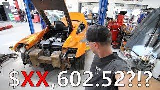 Replacing my Lamborghini Gallardo clutch with Hi Tech Exotic Kevlar Clutch