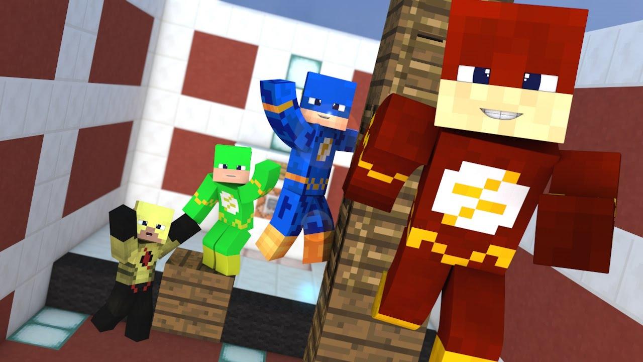 Minecraft - Desafio do Parkour (Flash Skins)