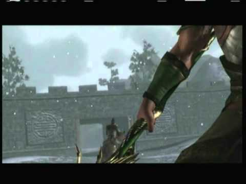 Dynasty Warriors 7 - Guan Yu VS Hua Xiong ( Shu, Wei, Wu )