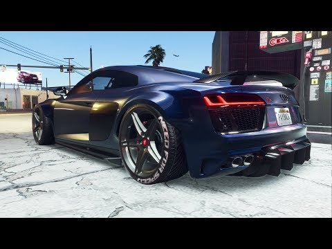 Need for Speed Payback | Audi R8 SLAMMED On Air Suspension BUILD