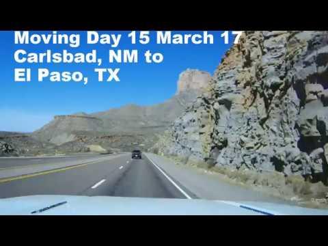 Dash Cam Carlsbad to El Paso