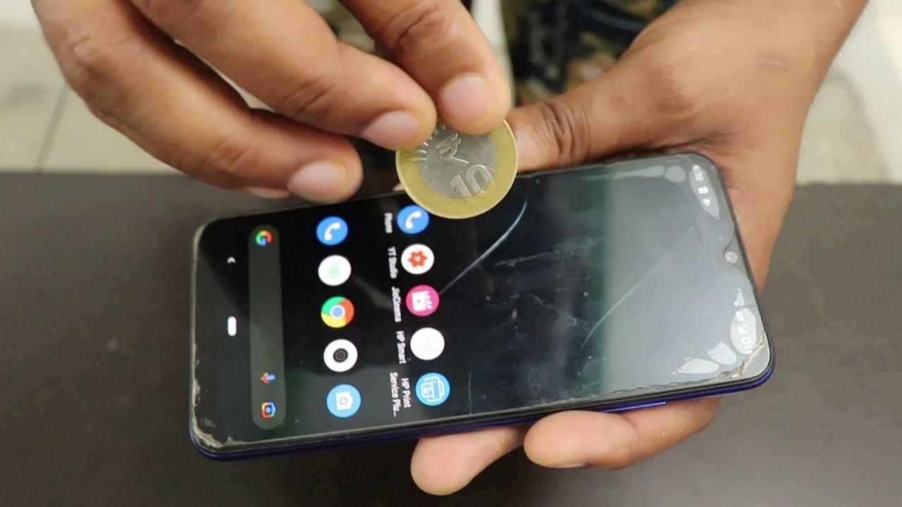 सिक्के को मोबाइल के अंदर डालने का जादू सीखें Mobile Magic Trick with Coin in Hindi (Magic Tutorial)