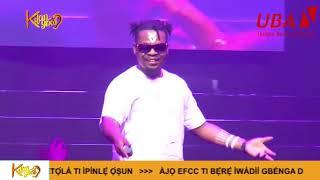 Olamide Shut Down UBA Award 2019 With hit Performance Nigerian Entertainment