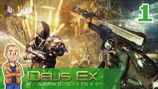 Deus Ex Mankind Divided Playthrough Part 1 - Desert Jewel - Let