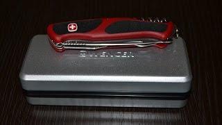 Нож Wenger RangerGrip 155(Обзор моего швейцарского складного ножа Wenger RangerGrip 155. Данным ножом я пользуюсь исключительно по продуктам..., 2014-10-13T13:45:02.000Z)