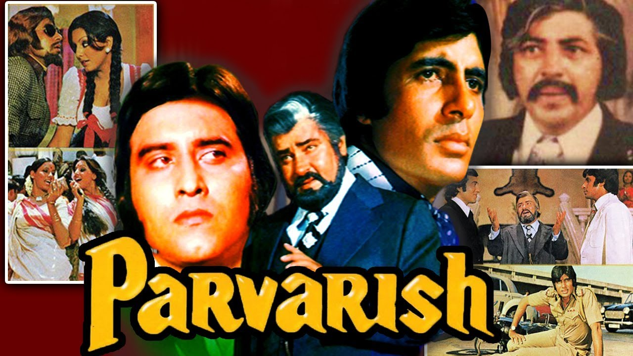 Parvarish (1977) Full Hindi Movie | Amitabh Bachchan, Vinod Khanna, Neetu Singh, Shabana Azmi