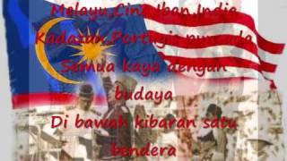 Saya Anak Malaysia [With lyrics]