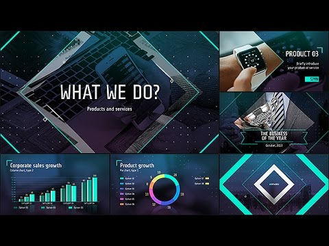 corporate presentation templates - after effects template - youtube, Powerpoint templates