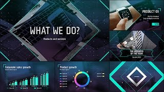 Corporate Presentation Templates - After Effects Template