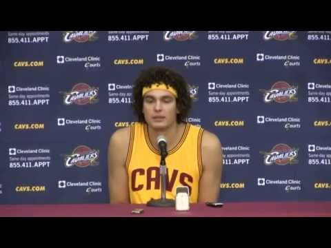 Anderson Varejao: Media Day - Press Conference