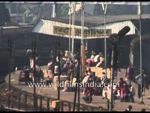 Guwahati Railway station : archival footage