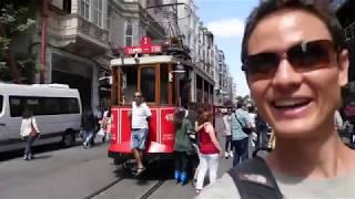 Istanbul Street Food - Turkish Kofte and Breakfast on Turkish Airlines
