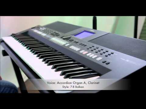 Presentation of balkan expansion pack on psr s650 youtube for Yamaha expansion pack