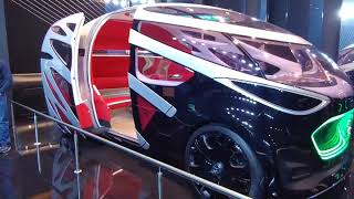 벤츠 비전 어바네틱(2019 프랑크푸르트 모터쇼, 자율…