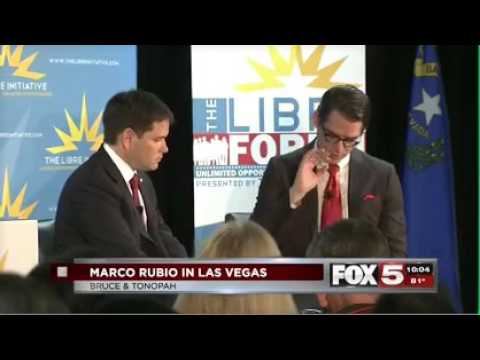 Marco attends LIBRE Policy Forum in Las Vegas