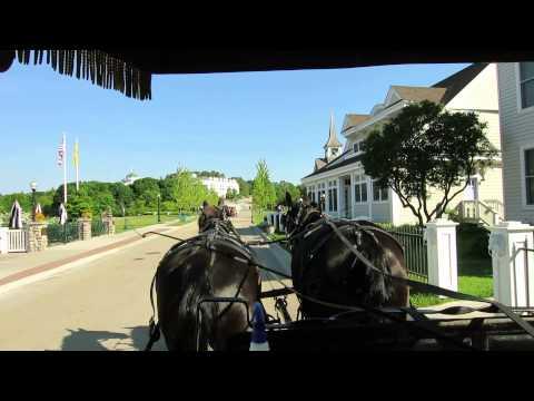 Carriage Ride Mackinac Island MI
