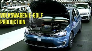 Volkswagen e-Golf Production