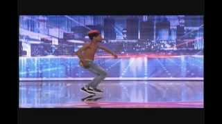 "Alonzo ""Turf"" Jones, Extreme Hip-Hop Contortionist Dancer (Full Audition)"