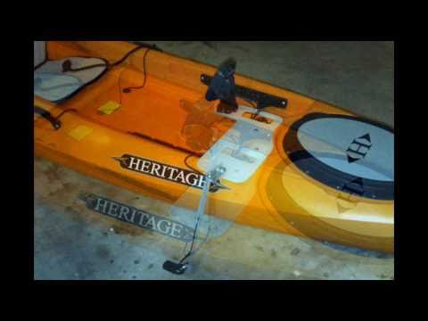 removable kayak fish finder platform - youtube, Fish Finder