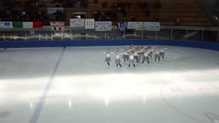 Flying Angels, Biasca 16/3/2014, Pattinaggio Sincronizzato sul ghiaccio