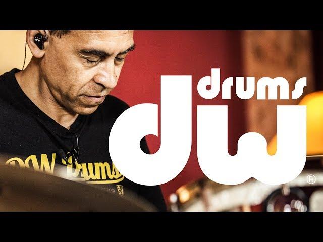 Jean-Philippe Fanfant Interview & Drum session - DW drums